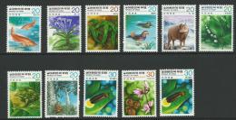 1979/80 Nature Conservation Set 10+1 Complete MUH SG Catalogue  No´s 1348/49, 1365/66, 1391/92, 1408/09 & 1415/16 - Korea, South