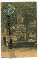 """- COTIGNAC - Fontaine Du Cours """" Gambetta """", En 1912, Splendide, Enfant, Style Toilée, Coins Ok, TBE, Scans. - Cotignac"""