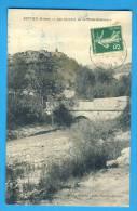 CP, 26, ROTTIER, Les Environs De La Motte-Chalançon, Voyagé En 1912, RARE - Autres Communes