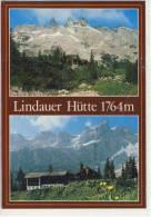 LINDAUER HÜTTE Im Rätikon , Montafon   2-Bildkarte - Österreich