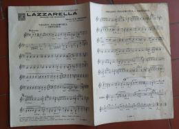 *SPARTITO - SUONNO E FANTASIA - LAZZARELLA - - Spartiti