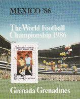 Grenada Grenadines-1986 World Football Championship Mexico Souvenir Sheet MNH - Grenada (1974-...)