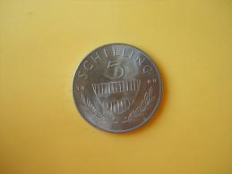 5 Schillings 1969 BU - Autriche