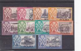 POLOGNE  SERIE DE 1935 COMPLETE - 1944-.... Republic