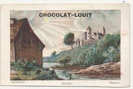 CHROMO Chocolat Louit Le Chateau  Cabaret Teniers  TTB - Louit