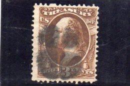 ETATS UNIES 1873 DEPT. OF TREASURY O - Officials