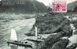 THE FINE LANDSCAP OF NIPPON RHINE RIV. KISO., Original Frankiert Und Gelaufen 1930 - Japan