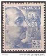 ES1052-LA852.España.Spain Espagne CID Y GENERAL FRANCO 1949/53.(Ed 1052**) Sin Charnela LUJO. - 1931-50 Nuevos & Fijasellos
