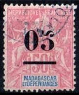 FRANCE COLONIES MADAGASCAR 1902 N° 48 OBLITERE COTE 5.50 EUROS - Madagascar (1889-1960)