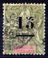FRANCE COLONIES MADAGASCAR 1902 N° 50 OBLITERE COTE 8 EUROS - Madagascar (1889-1960)