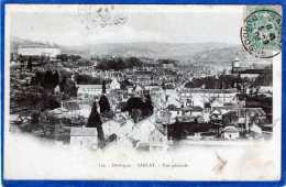 224 SARLAT VUE GENERALE CARTE PRECURSEUR - Sarlat La Caneda