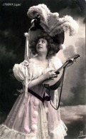 """J.MIGNON """"Cigale"""", Junge Frau Mit Schönem Hut, Gelaufen 191? - Frauen"""