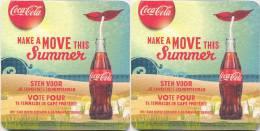 #D54-036 Viltje Coca-Cola - Sous-bocks