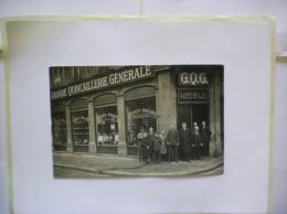 CARTE PHOTO GRANDE QUINCAILLERIE GENERALE ANDREZ-BRAJON  BRETAGNE - Photographie