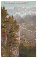 Italy - Blick Auf Cortina Vom Belvedere - Not Used - Cca 1900 - Ottmar Zieher - Italia