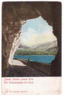 Italy - Lago Di Garda - Strada Ponale Presso Riva - Die Ponalestrasse Bei Riva - Cca 1900 - Not Used - Other Cities
