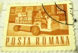 Romania 1967 Electric Parcels Truck 60b - Used - Oblitérés