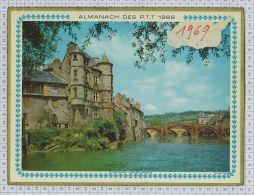 L'Almanach Des PTT De 1969, Sarthe 72 - Calendarios