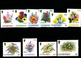 GUERNSEY - 1992  HORTICULTURAL  EXPORTS   SET  MINT NH - Guernsey