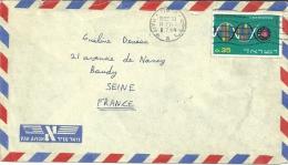 Israel Haifa 1964 >> Baudy Seine France / DNA - Covers & Documents