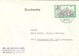 Deutschland 1971 Richterich >> Triesdorf - BRD