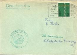 Deutschland 1972 Bremerhaven / Europa Cept / Drucksache - BRD
