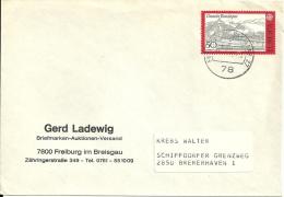 Deutschland 1977 Freiburg Im Breisgau >> Bremerhaven / Europa Cept - BRD