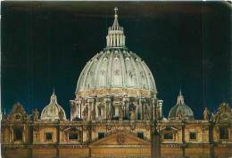 CPM - CITTA' DEL VATICANO - Basilica Di S. PIetro - Cupola Illuminata (Da Fotocolor, 38) - Vatican