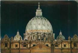 CPM - CITTA' DEL VATICANO - Basilica Di S. PIetro - Cupola Illuminata (Da Fotocolor, 38) - Vatikanstadt