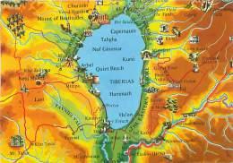 CPM - ISRAEL - Map (By Amir Publishing, 4136) - Israel