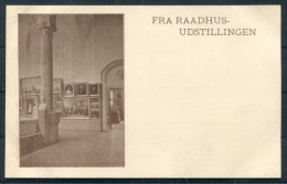 Denmark Fra Raadhus Udstillingen Copenhagen Exhibition Postcard - Exhibitions