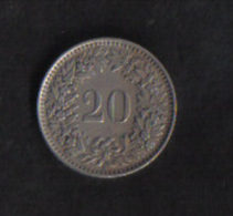 SWITZERLAND  -  20 RAPPEN  1970 - Switzerland