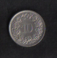 SWITZERLAND  -  10 RAPPEN  1965B - Switzerland