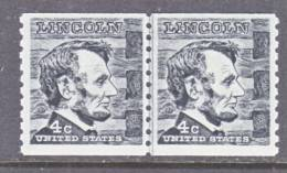 U.S. 1303  Line Pair    **  LINCOLN - Coils & Coil Singles