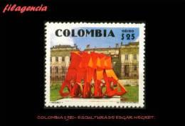 AMERICA. COLOMBIA MINT. 1980 ESCULTURA DE EDGAR NEGRET - Colombia