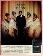 Reklame Werbeanzeige  -  ....angezogen Von Vestan  -  Angestrahlt Vom Scheinwerferlicht  -  Von 1965 - Herr