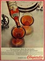 Reklame Werbeanzeige Von 1965 -  Dujardin  -  Wenn Sie Ihn Kaufen Ist Er Voll Ausgereift  -  Von 1965 - Alkohol