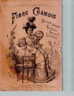 Gravure FIBRE CHAMOIS & Une Partie De Crocket - Format 180 X 265mm - Scans Recto/verso - Estampas & Grabados