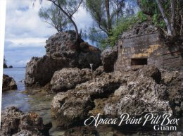 (876) Guam - War In The Pacific - Apaca Point Pill Box - Guam
