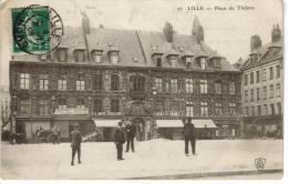 CPA LILLE (Nord) - Place Du Théâtre - Lille