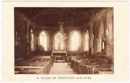 MONTIGNY SUR AVRE - Eglise   (59531) - Autres Communes