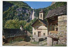 SWITZERLAND - AK 165105 Foroglio (Valle Bavona) - TI Tessin