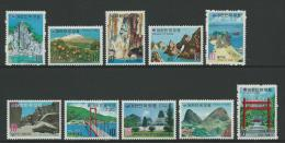 1973 Korean Tourist Attractions Set  Of 10 Complete MUH SG Catalogue No´s 1030/1031,1042/1043,1048/49,57,58  & 1075/1076 - Korea, South