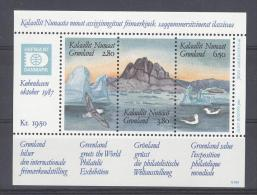 GROENLAND - Mi Blok Nr 1 - MNH** - Cote 7,00 € - Groenland