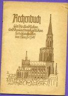 Livre - Rechenbuch Für Die Landlichen Und Hauswirthschaftlichen Berufsschulen Im Elsass 1941 - Livre Calcul Alsace - Livres Scolaires