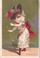 CHROMO -  Magasin G BERNARD Bordeaux - La Proie à L'ombre  TB(4 Points De Colle Angles) - Trade Cards