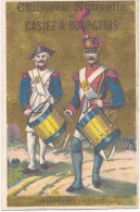 CHROMO -  Chicorée Casier Et Bourgeois Tambours XVII Et XVIII Eime Siecle TTB - Trade Cards