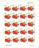 China Nº 4423 En Minipliego De 20 Sellos - Nuovi