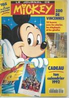 LE JOURNAL DE MICKEY  N° 2063  -  Déssin: WALT DISNEY   -  1992 - Journal De Mickey