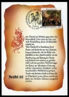 92085) UNO Wien - Michel 150 / 151 - 2 Maximumkarten MK/MC - Erklärung Der Menschenrechte V - Cartes-maximum